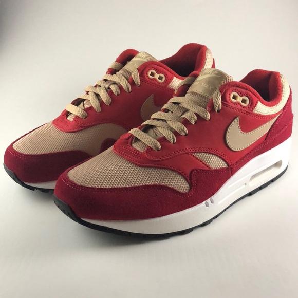 Nike Atmos X 1 Nwt Air Max Red Curry hdtsQr